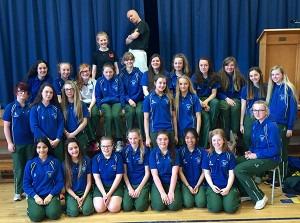 KIC Drama visits Bloomfield Collegiate