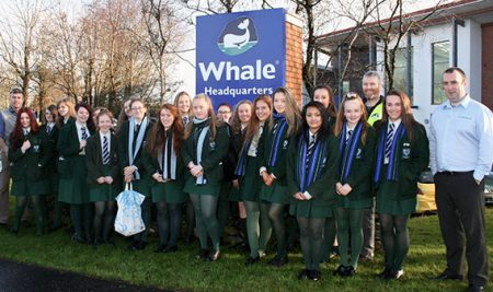 Year 11 trip to Whale Headquarters