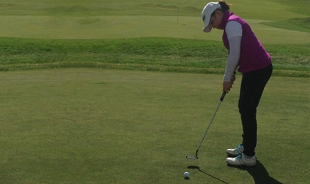 Golfer Swings to Victory